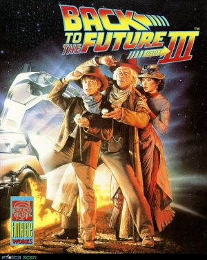 Back to the Future Part III Cover
