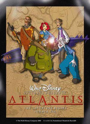Atlantis - Das Geheimnis der verlorenen Stadt 400x546