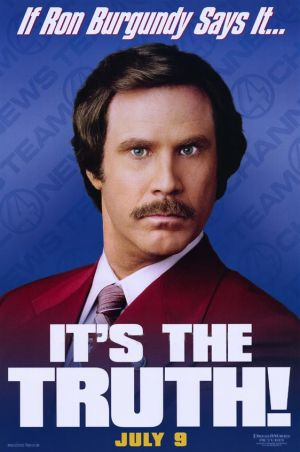 Anchorman: The Legend of Ron Burgundy 562x847
