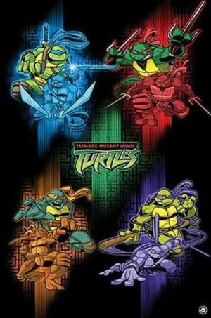 Teenage Mutant Hero Turtles 348x526