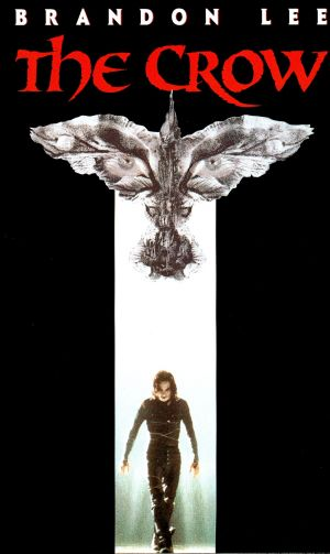 The Crow Vhs cover
