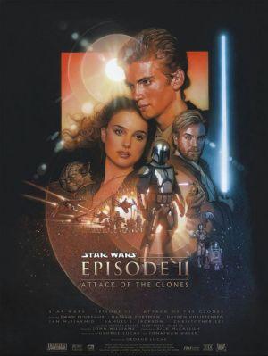 Star Wars: Episodio II - El ataque de los clones 690x918