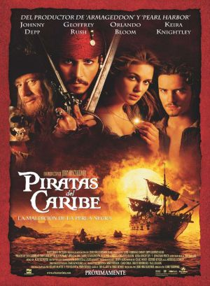 Pirates of the Caribbean: The Curse of the Black Pearl 693x945