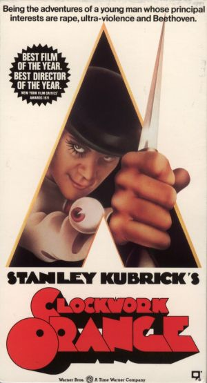 A Clockwork Orange Vhs cover