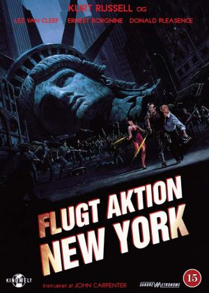 Escape From New York Dvd cover