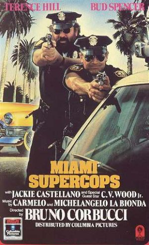 Miami Supercops Vhs cover