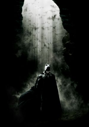 Batman Begins Key art