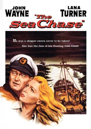 The Sea Chase Dvd cover