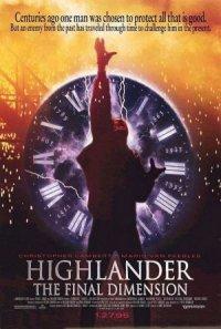 Highlander III: The Sorcerer poster