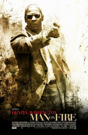 US poster for Man On Fire