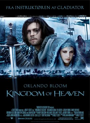 Danish poster for Kingdom of Heaven