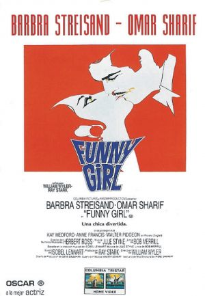 Funny Girl Video release poster