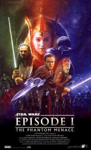 Star Wars: Episodio I - La amenaza fantasma 400x658