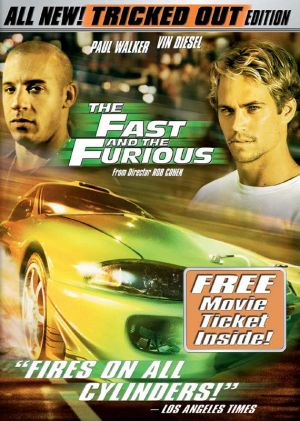 The Fast and the Furious Dvd cover