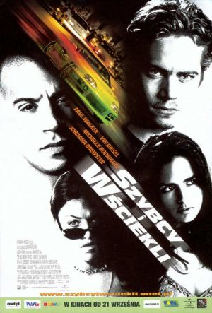 The Fast and the Furious 542x800
