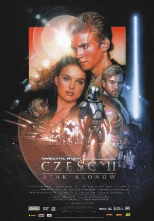 Star Wars: Episodio II - El ataque de los clones 556x800