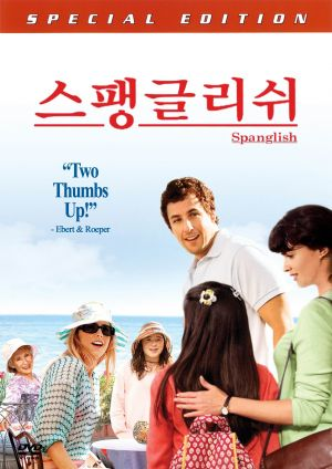 Spanglish Dvd cover