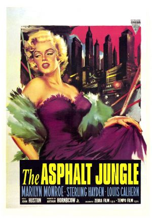 The Asphalt Jungle Theatrical poster