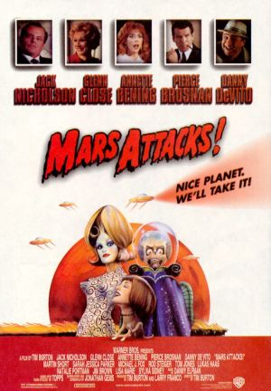 Mars Attacks! Theatrical poster