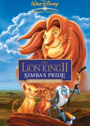 Der König der Löwen 2: Simbas Königreich 495x690