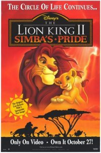 The Lion King II: Simba's Pride poster