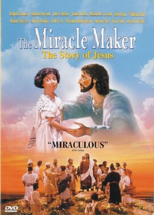 The Miracle Maker Dvd cover