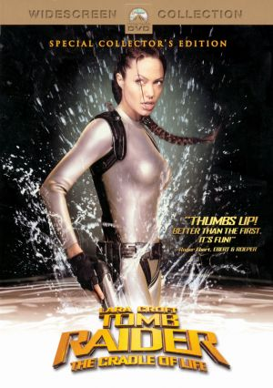 Lara Croft Tomb Raider: The Cradle of Life Dvd cover