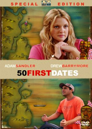 50 First Dates Dvd cover