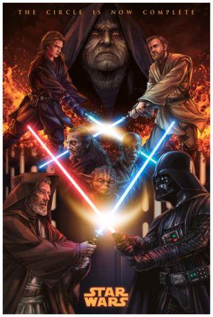 Star Wars: Episodio III - La venganza de los Sith 395x586