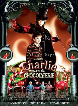 Charlie and the Chocolate Factory 600x815