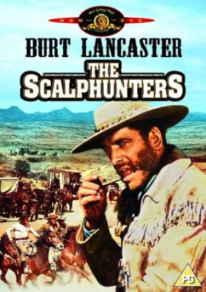 The Scalphunters Dvd cover