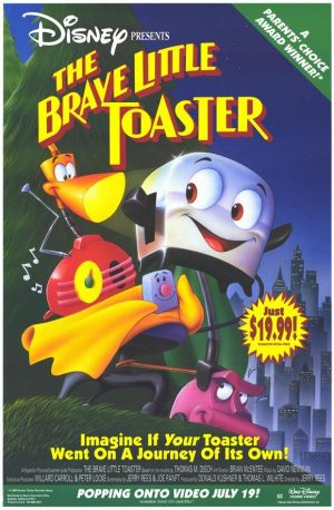The Brave Little Toaster 580x886