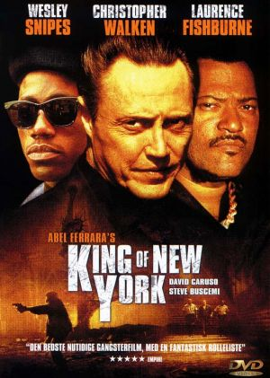 King of New York Dvd cover