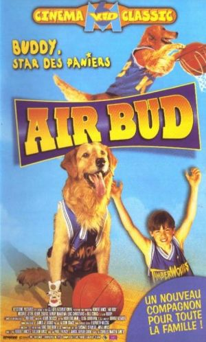 Air Bud Vhs cover