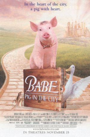 Schweinchen Babe in der großen Stadt 373x564