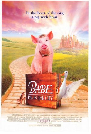 Schweinchen Babe in der großen Stadt 923x1350