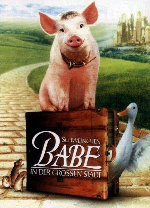 Schweinchen Babe in der großen Stadt 642x890