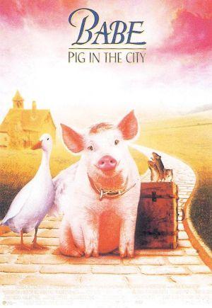Schweinchen Babe in der großen Stadt 552x800