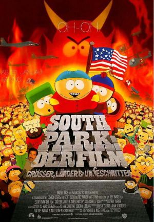 South Park: Bigger, Longer & Uncut 603x873