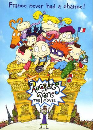 Rugrats in Paris: The Movie - Rugrats II Dvd cover