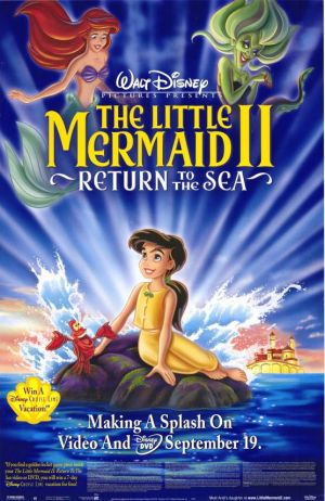 The Little Mermaid II: Return to the Sea Video release poster