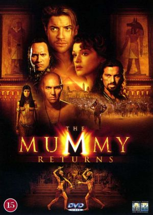 The Mummy Returns Dvd cover