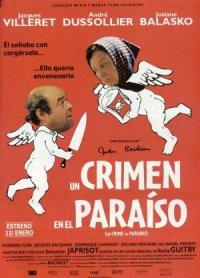 Un crime au paradis poster