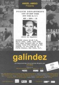 Galíndez poster