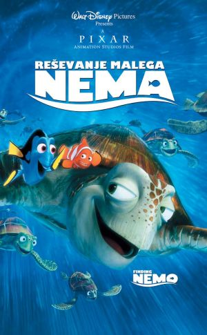 Finding Nemo Vhs cover
