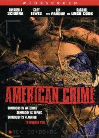 American Crime poster