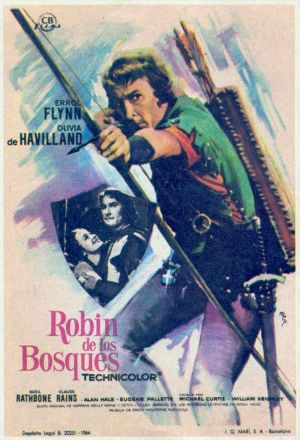 The Adventures of Robin Hood 897x1315