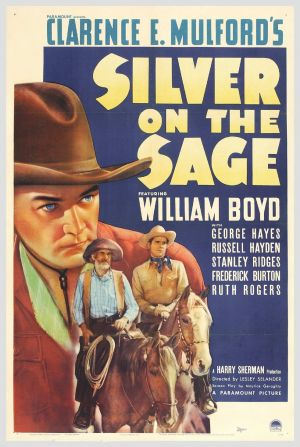 Silver on the Sage Theatrical poster