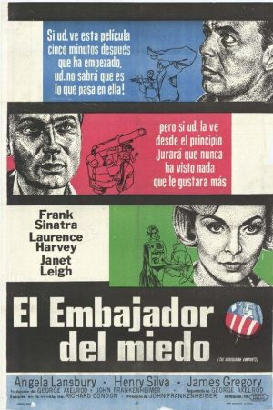 The Manchurian Candidate 580x871