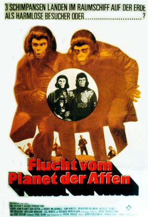 Escape from the Planet of the Apes 476x700